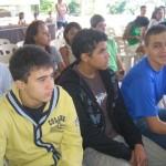 AcampInvictos 2013 - Hugo, Faris e Joel