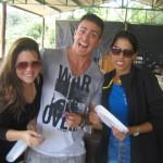AcampInvictos 2013 - Jéssyca, Lauro e Tereza